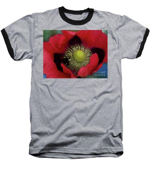 Poppy Love Baseball T-Shirt