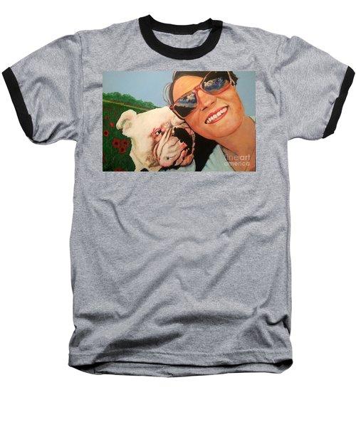 Poppy Meadow Baseball T-Shirt