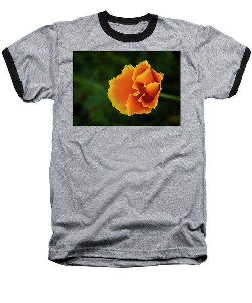Poppy Orange Baseball T-Shirt