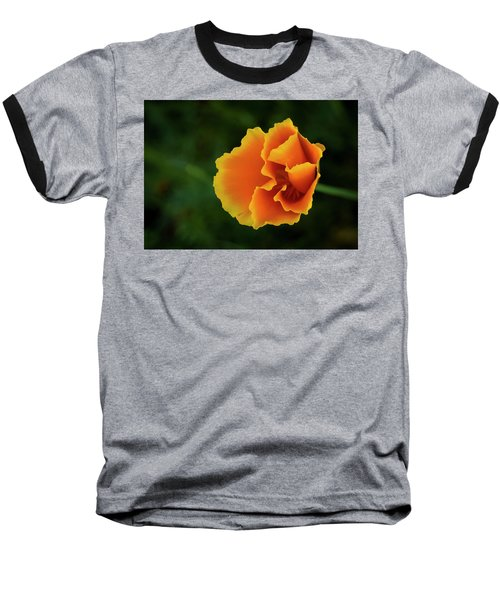 Poppy Orange Baseball T-Shirt