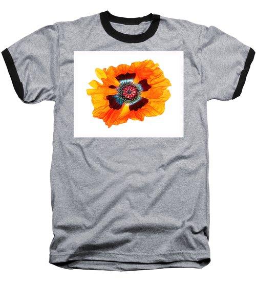Poppy Pleasing Baseball T-Shirt