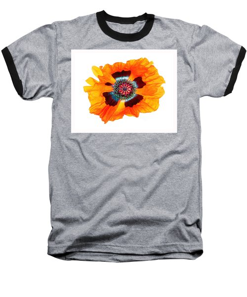 Poppy Pleasing Baseball T-Shirt