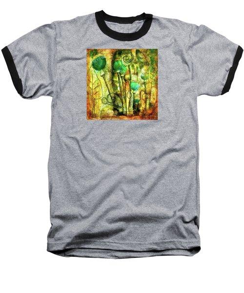 Poppy Pods Baseball T-Shirt