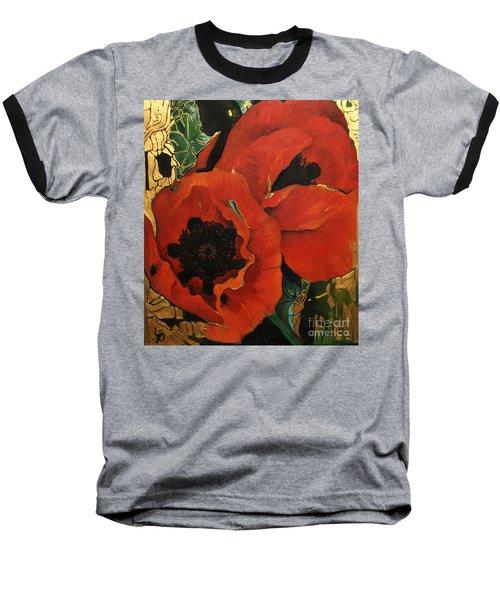 Poppygold Baseball T-Shirt