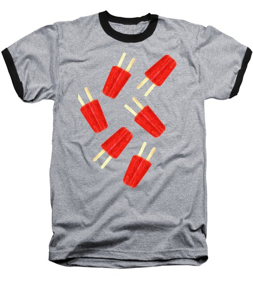 Popsicle T-shirt Baseball T-Shirt