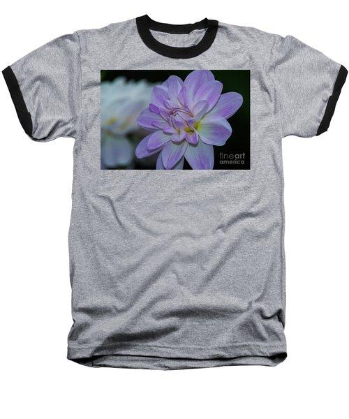 Porcelain Dahlia Baseball T-Shirt