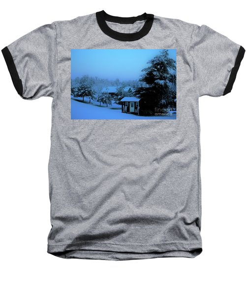 Porch Setting, Not Today Baseball T-Shirt