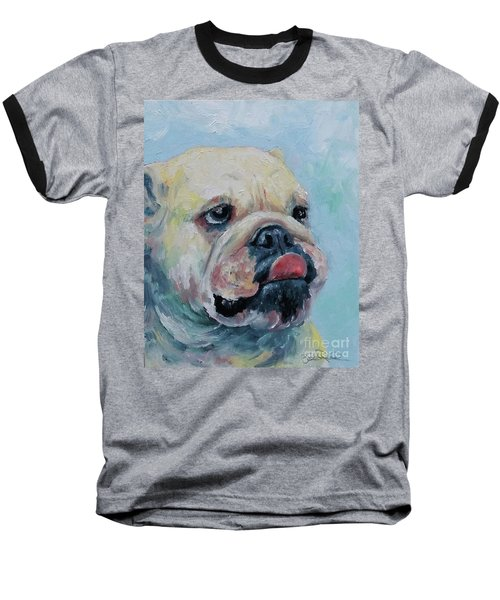 Pork Chop Baseball T-Shirt by William Reed