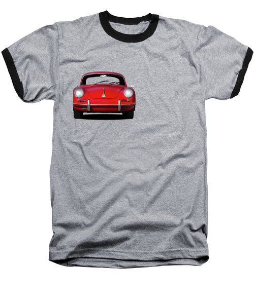 Porsche 356 Baseball T-Shirt by Mark Rogan