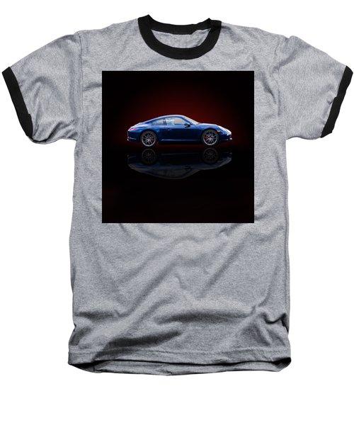 Porsche 911 Carrera - Blue Baseball T-Shirt