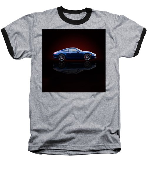 Porsche 911 Carrera - Blue Baseball T-Shirt