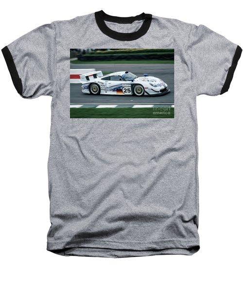 Porsche 911 Gt1 Strassenversion Baseball T-Shirt
