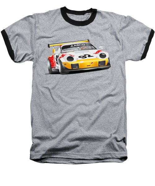 Porsche 911 Turbo Custom Baseball T-Shirt