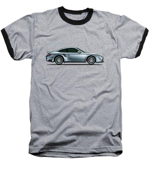 Porsche 911 Turbo Baseball T-Shirt