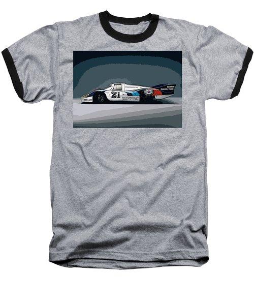 Porsche 917 Longtail 1971 Baseball T-Shirt