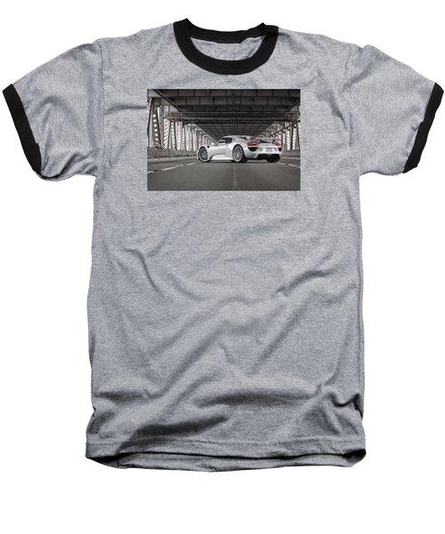 Porsche 918 Spyder Baseball T-Shirt