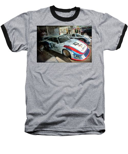 Porsche 935 Moby Dick Baseball T-Shirt