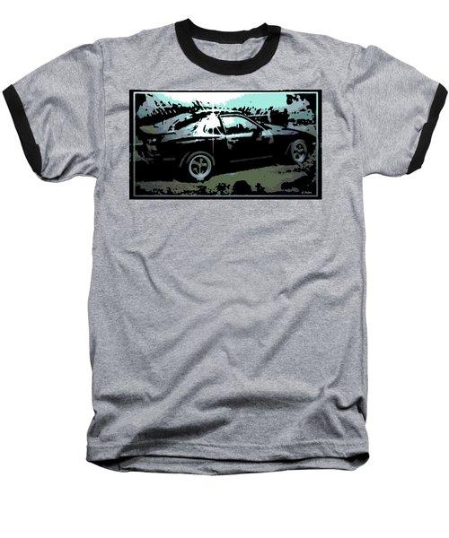 Porsche 944 Baseball T-Shirt by George Pedro