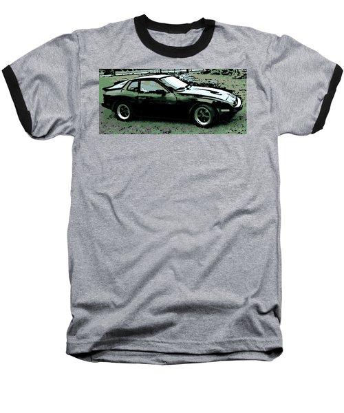 Porsche 944 On A Hot Afternoon Baseball T-Shirt