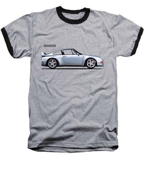 Porsche 993 Baseball T-Shirt by Mark Rogan
