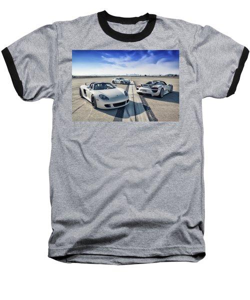 #porsche #carreragt,  #918spyder,  #cayman #gt4 Baseball T-Shirt