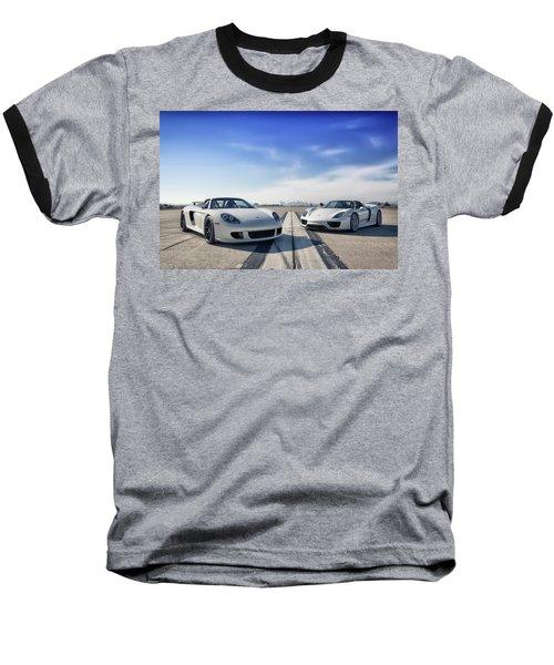 #porsche #carreragt And #918spyder Baseball T-Shirt