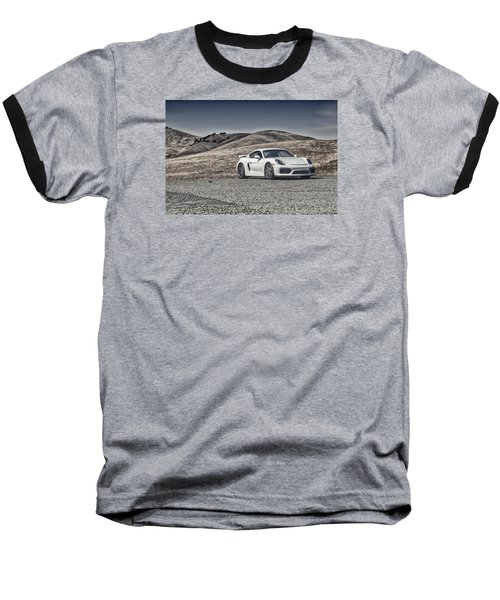 Porsche Cayman Gt4 In The Wild Baseball T-Shirt