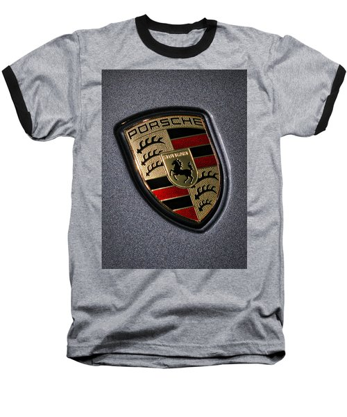 Porsche Baseball T-Shirt by Gordon Dean II