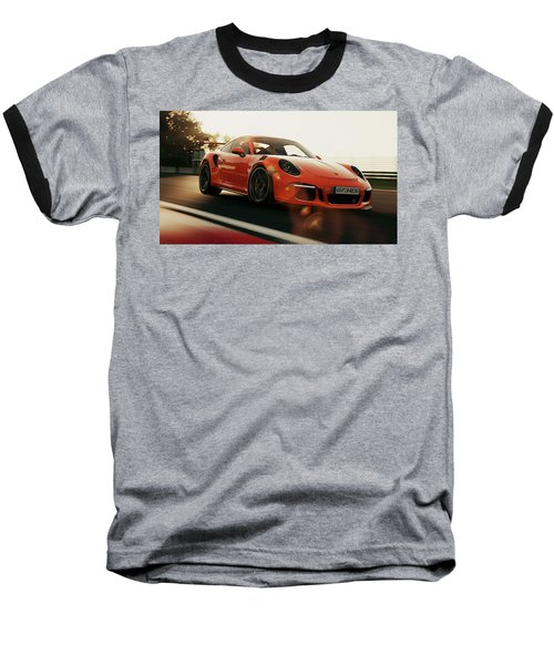 Porsche Gt3 Rs - 4 Baseball T-Shirt