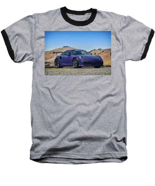 #porsche #gt3rs #ultraviolet Baseball T-Shirt