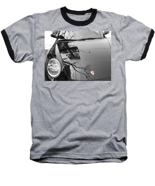 Porsche Reflections Baseball T-Shirt
