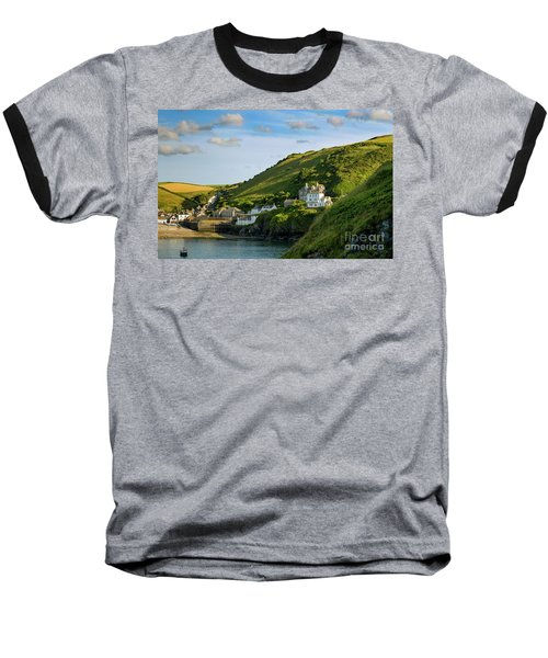 Baseball T-Shirt featuring the photograph Port Issac Hills by Brian Jannsen
