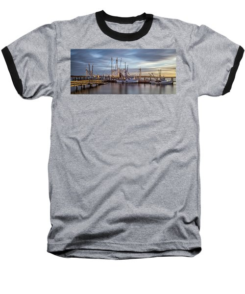 Port Royal Shrimp Boats Baseball T-Shirt