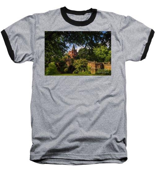 Port Sunlight Village In Summer Baseball T-Shirt