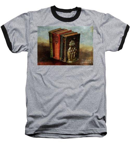 Baseball T-Shirt featuring the digital art Portable Magic by Lois Bryan