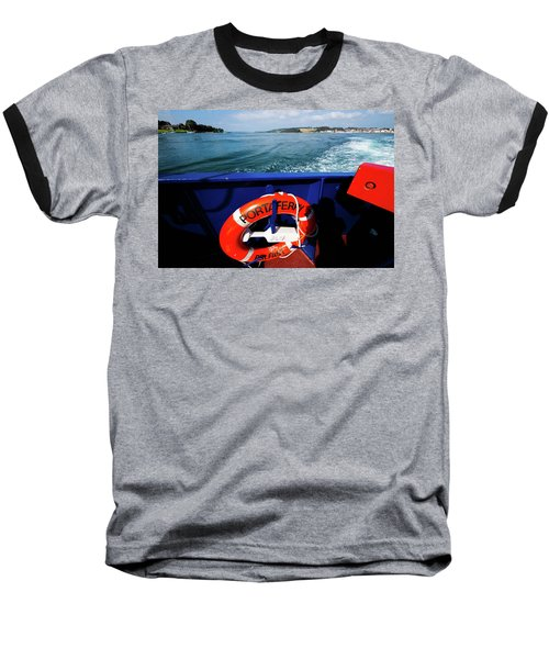Portaferry Ferry Baseball T-Shirt