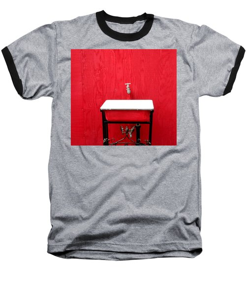 Baseball T-Shirt featuring the photograph Portal Flow by Marie Neder