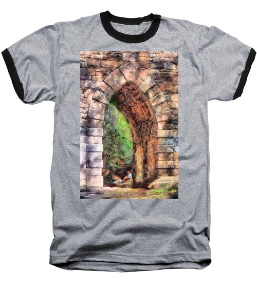 Portal Into Summertime Baseball T-Shirt