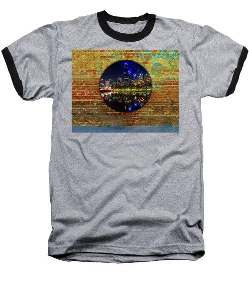 Portal Baseball T-Shirt by Mark Blauhoefer