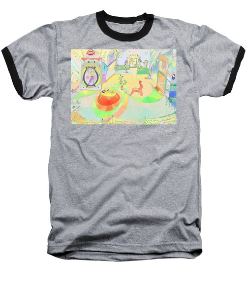 Portals And Perspectives Baseball T-Shirt