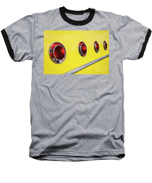 Baseball T-Shirt featuring the photograph Portholes by Dennis Hedberg
