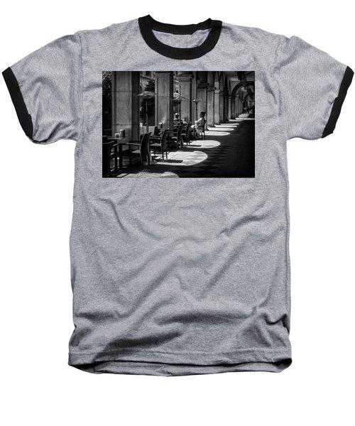 Portico Conversation Baseball T-Shirt