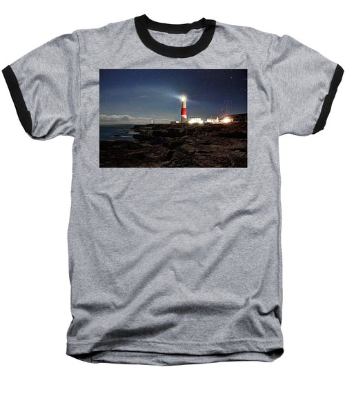 Portland Bill Lighthouse Uk Baseball T-Shirt