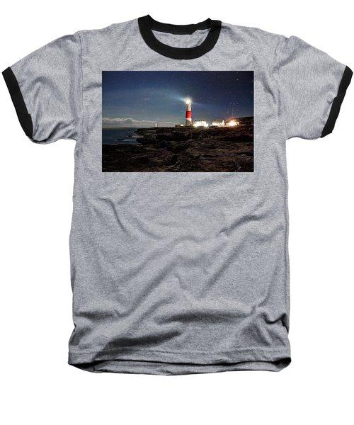 Portland Bill Lighthouse Uk Baseball T-Shirt