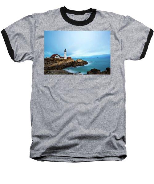 Portland Head Light 1 Baseball T-Shirt