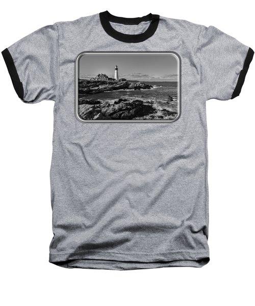 Portland Head Light No.34 Baseball T-Shirt