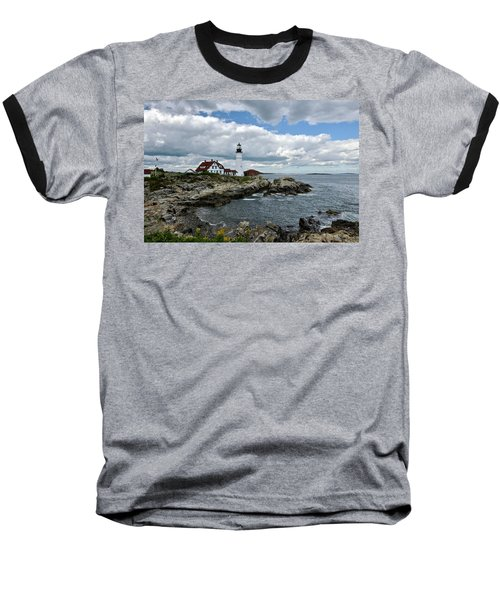 Portland Head Light, Starboard Baseball T-Shirt