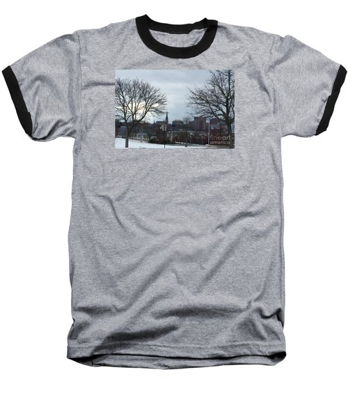 Portland, Maine, My City By The Bay Baseball T-Shirt by Patricia E Sundik