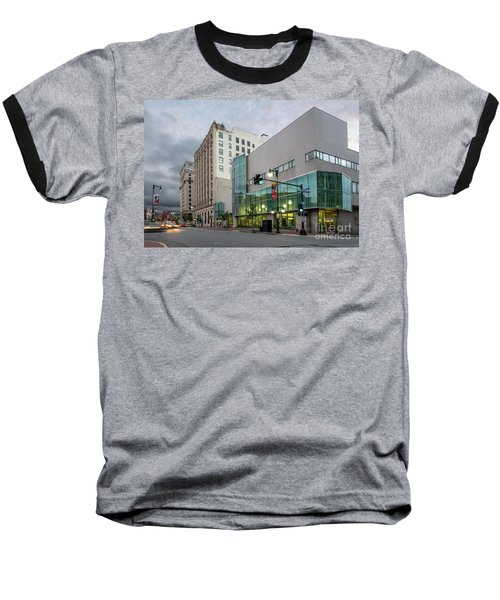 Portland Public Library, Portland, Maine #134785-87 Baseball T-Shirt