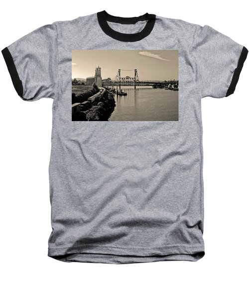 Portland Steel Bridge Baseball T-Shirt